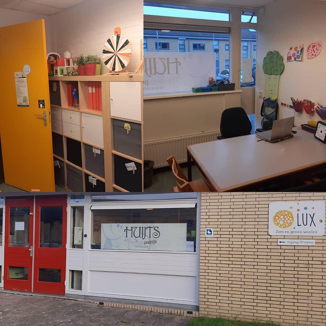 Locatie Logopediepraktijk Huijts in de wijk Zuilen bij SO Lux